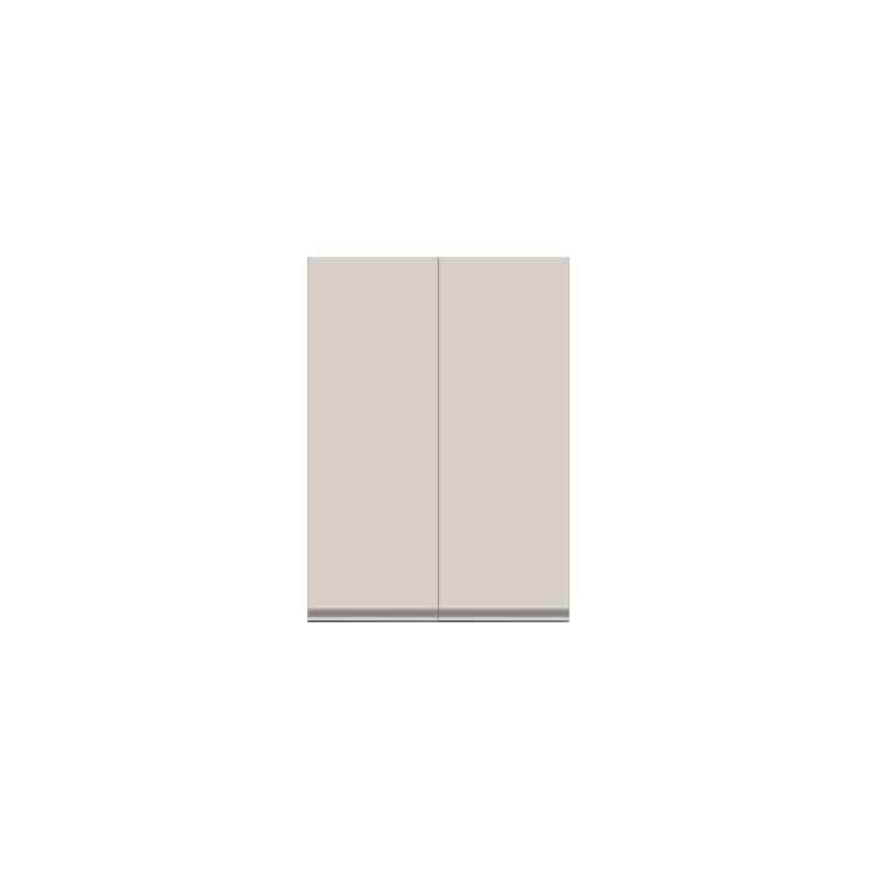壁面収納 上台(板扉) OV−83D A シルキーアッシュ:壁面収納 上台(板扉)