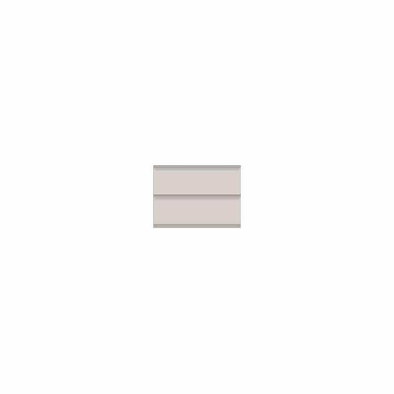 壁面収納 下台(引出) OV−60 A シルキーアッシュ:壁面収納 下台(引出)