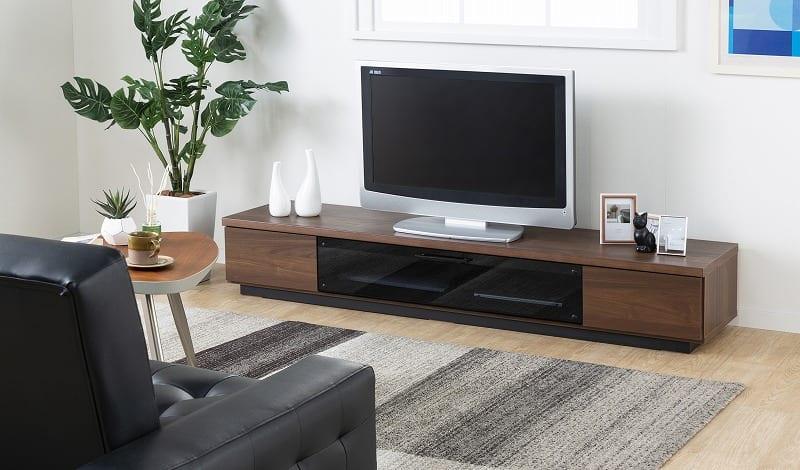 :シンプルシックなデザインのTVボード