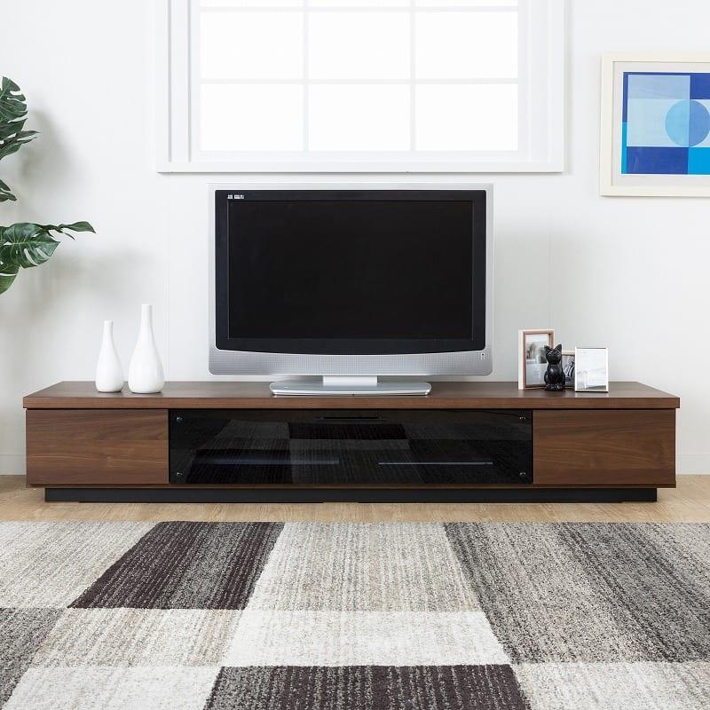ローボード ウィッシュ 180TV(NA):幅は150cmと180cmの2種類