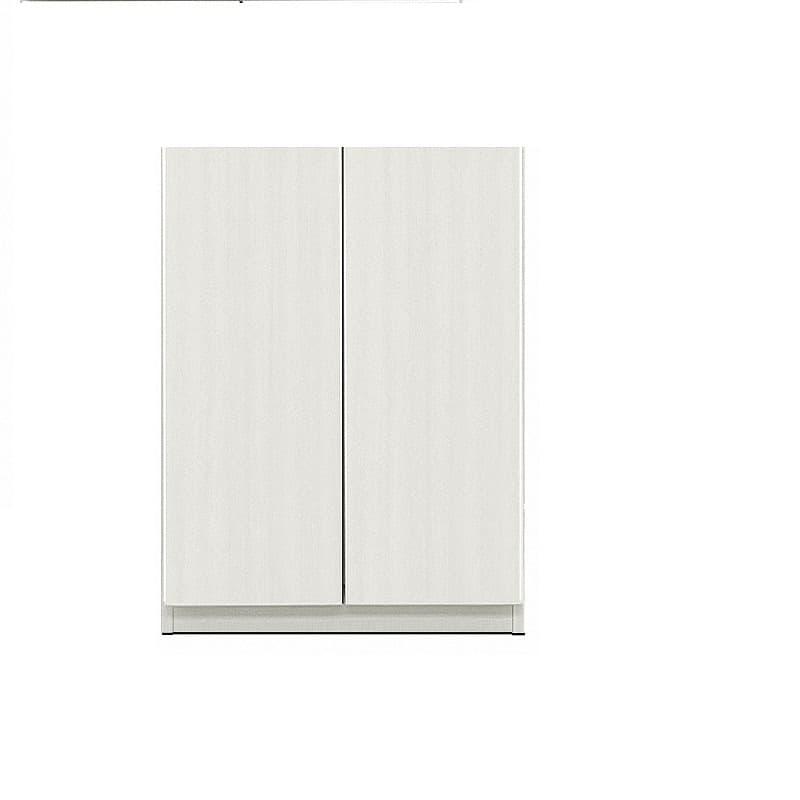 壁面収納シマウ 60cm 下台板戸 ウッドホワイト:壁面収納シマウ 60cm