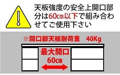 ローボード ユニオン 幅60cm AV WN