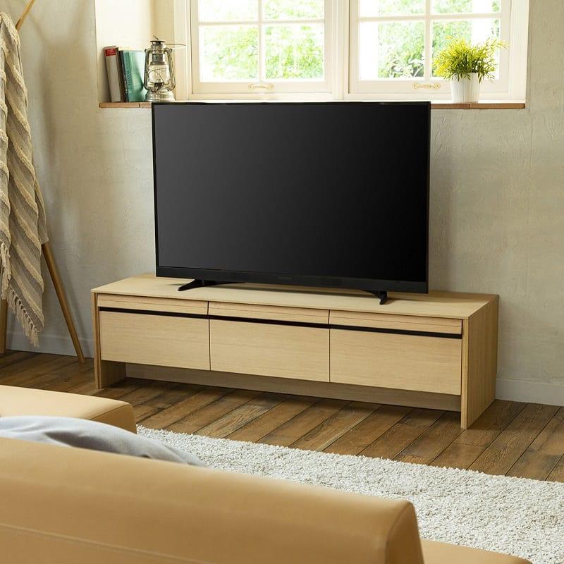 カリモク テレビボード ダンテ テレビボード150H16517MEG:ベーシックなデザインと充実の機能