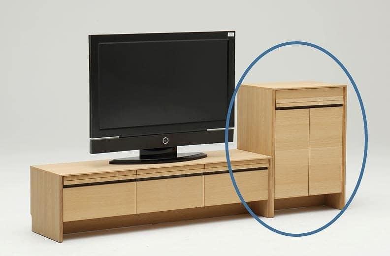 カリモク キャビネット ダンテ キャビネットH16210MEG ピュアオーク:ベーシックなデザインと充実の機能