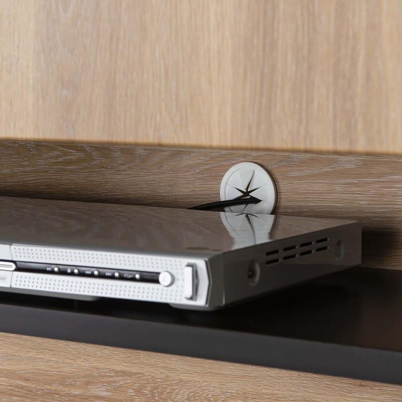 ハイボード ファイン180TVボード(ダーク):収納をよりよく魅せるこだわり