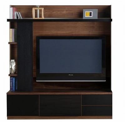 TVボード ラート テレビ160 ブラウン/ブラック:TVボード