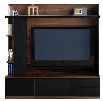 TVボード ラート テレビ180 ブラウン/ブラック:TVボード