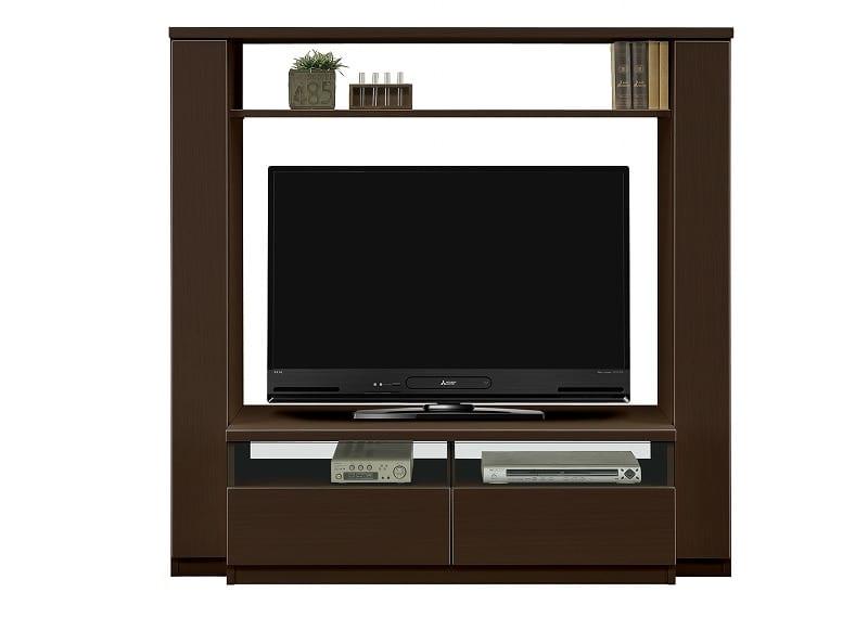 TVボード ピティ150HTV(BR):シンプル且つスタイリッシュ 画像はイメージです