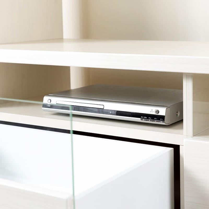 TVボード ピティ150HTV(BR):家電の熱がこもりにくい