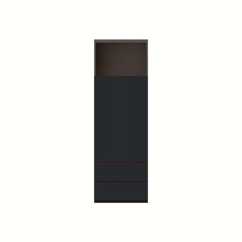 サイドキャビネット QW−A600 B ブラックグレイン:サイドキャビネット