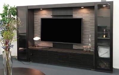 TVボード(壁掛けパネル有/サイドキャビタイプ)ECS D47 182TV−EC BK/DGY