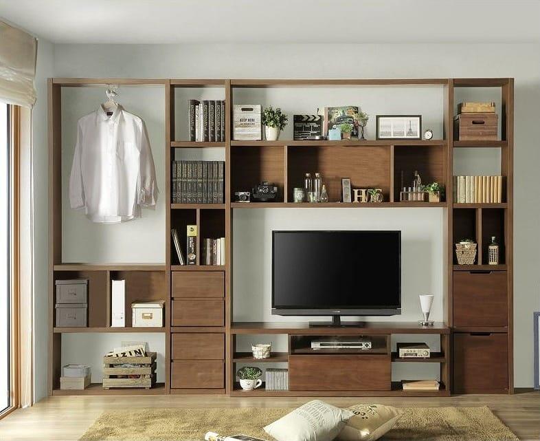 TVボード 棚板385 OAK:TVボードタイプもご用意
