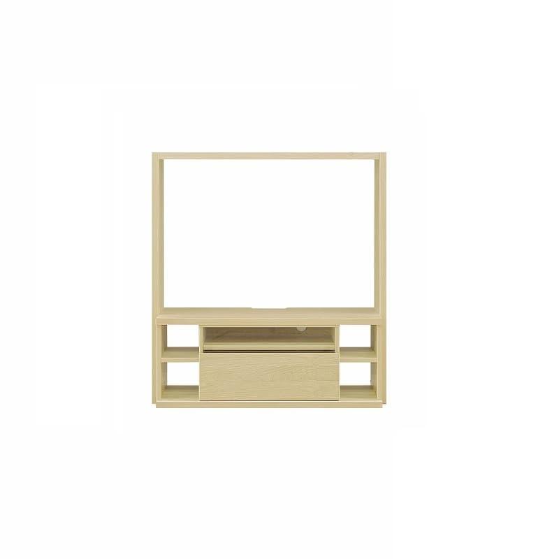 【セット】TVBタイプ ボックス1265 Lタイプ OAK:収納力&解放感の両立