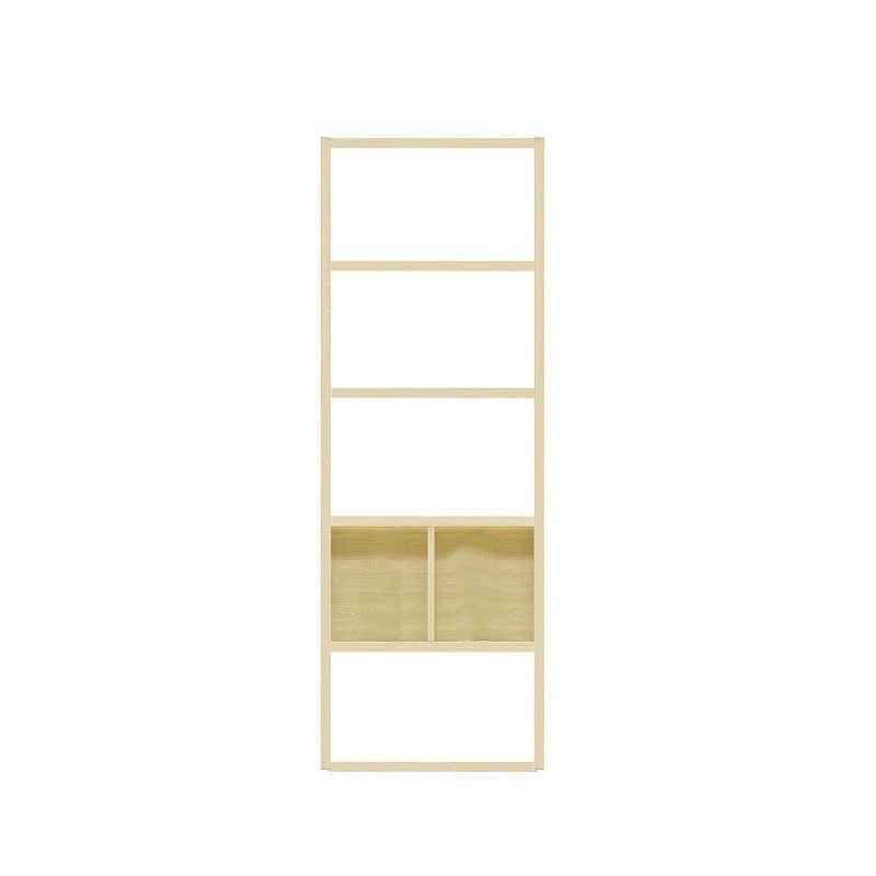 【セット】ラックタイプ ボックス860 Hタイプ OAK:収納力&解放感の両立