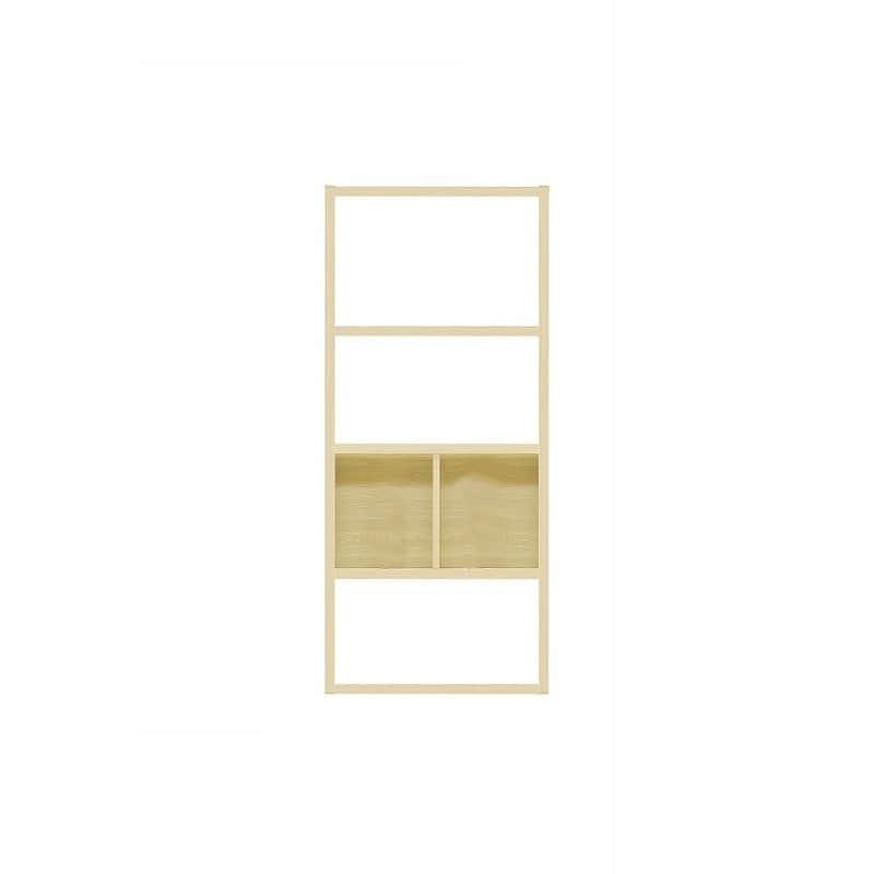 【セット】ラックタイプ ボックス860 Mタイプ OAK:収納力&解放感の両立
