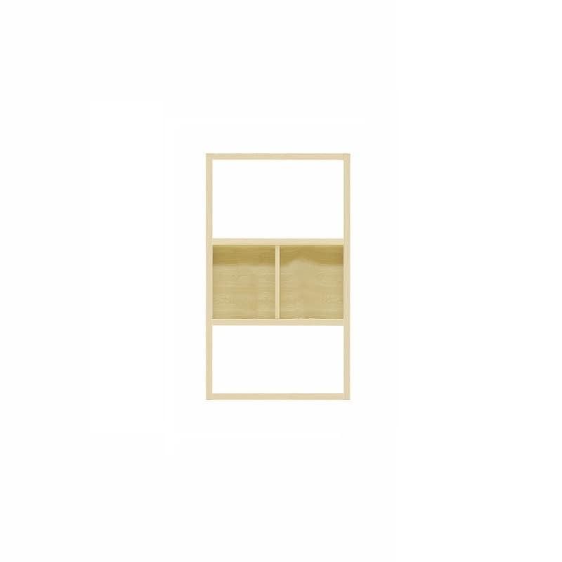 【セット】ラックタイプ ボックス860 Lタイプ OAK:収納力&解放感の両立