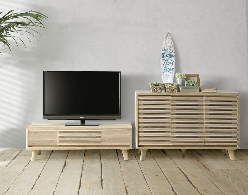 :テレビボード+サイドボード