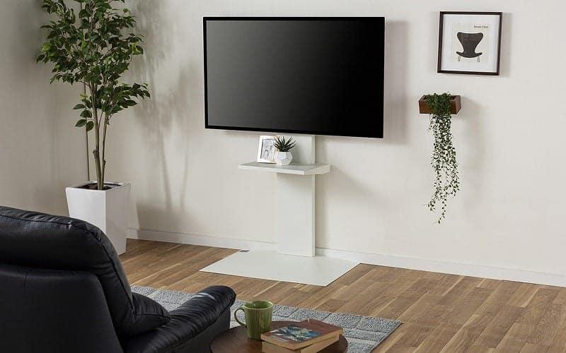 :部屋の雰囲気を変えるテレビスタンド