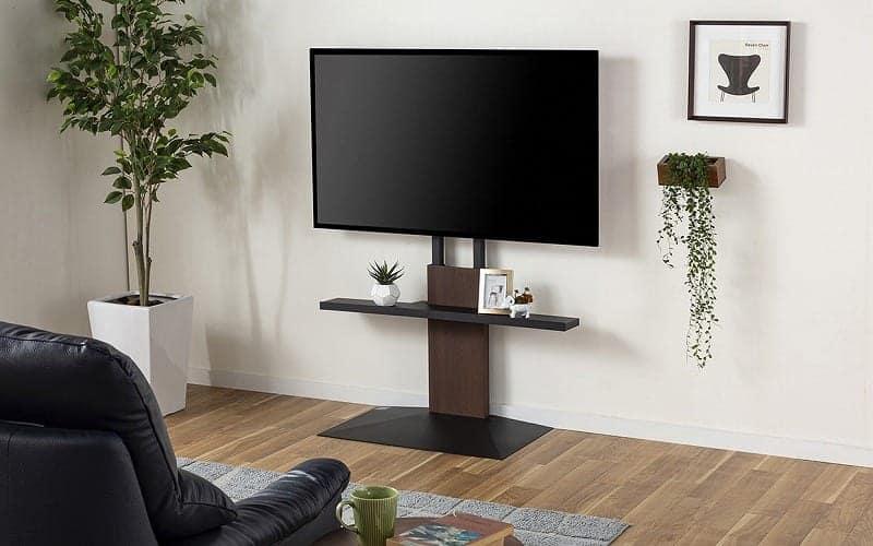 TVスタンド WALL V3 ロータイプ サテンホワイト:部屋の雰囲気を変えるテレビスタンド