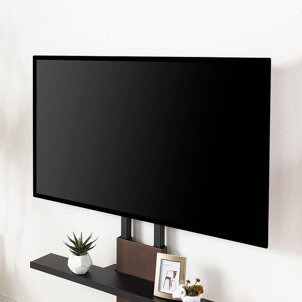 TVスタンド WALL V3 ロータイプ サテンホワイト:32〜79インチテレビに対応