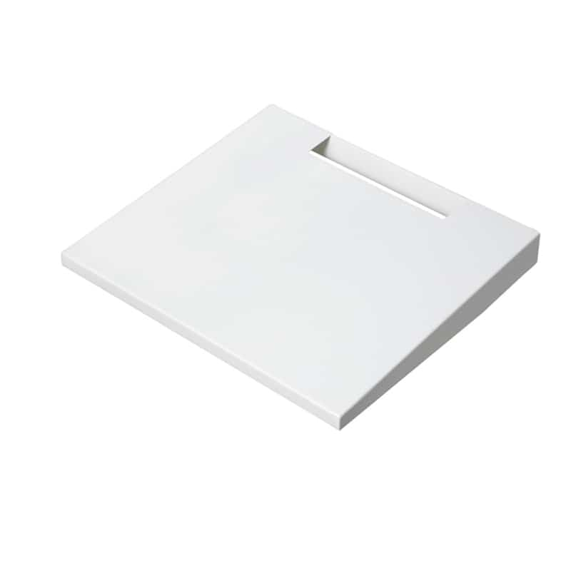 棚板 WALL テレビスタンド用 ラージサイズ D05000018 サテンホワイト:棚板 WALL