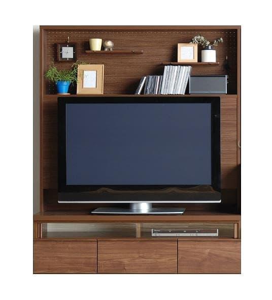 TVボード カデナ テレビ 130CH ブラウン:TVボード ※電化製品、小物類はイメージです。