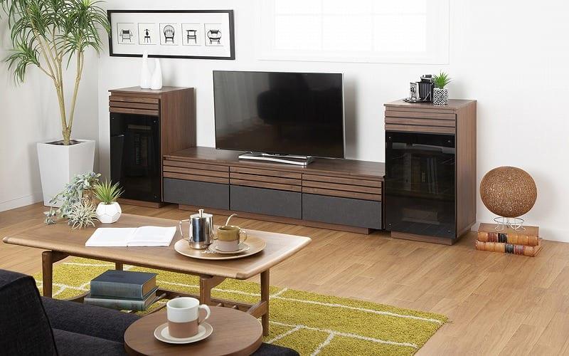 ローボード ストーネ150TVB:スタイリッシュなお部屋づくりを叶えるおしゃれなテレビボード