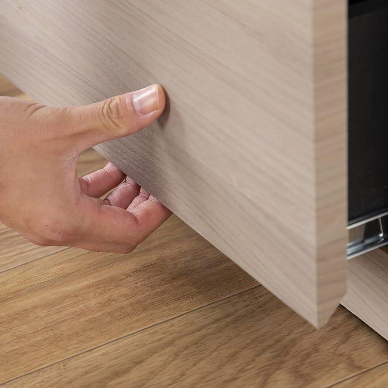 :指をかけやすいつくり
