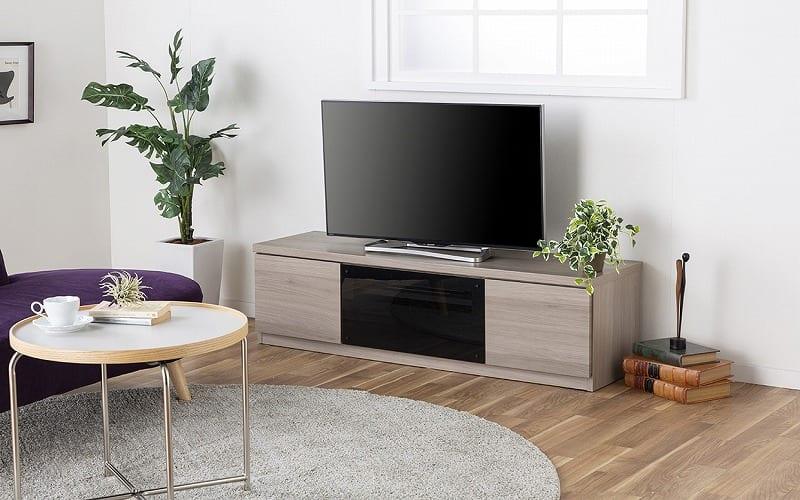 :細部までこだわった設計のテレビボード