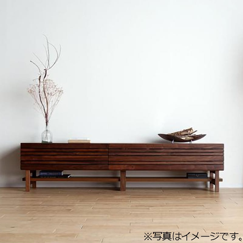 ローボード エルドラ テレビ210 H脚付き ブラウン