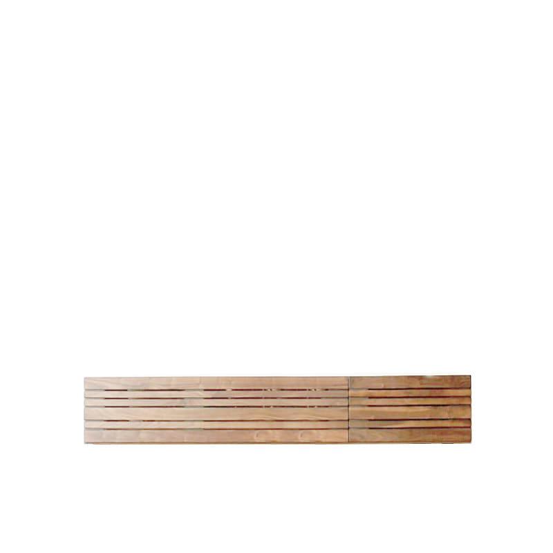 ローボード エルドラ テレビ150 脚なし ナチュラル:材料、塗料すべて最高水準のF☆☆☆☆
