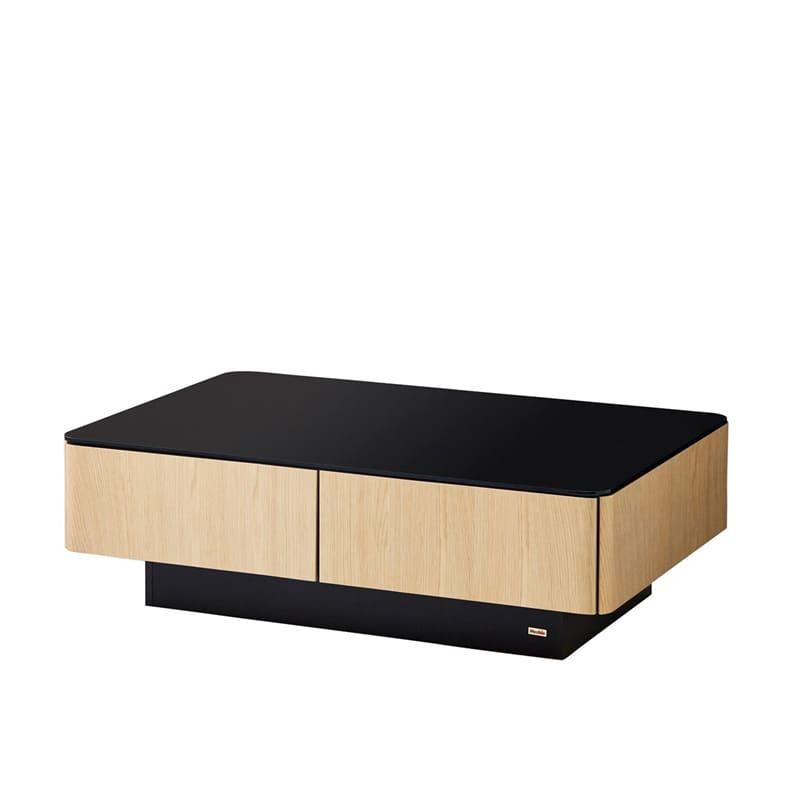 リビングテーブル ストレージ120 OK−NA:天然無垢材と天然無垢を使用した質感高いデザインでリビングを演出