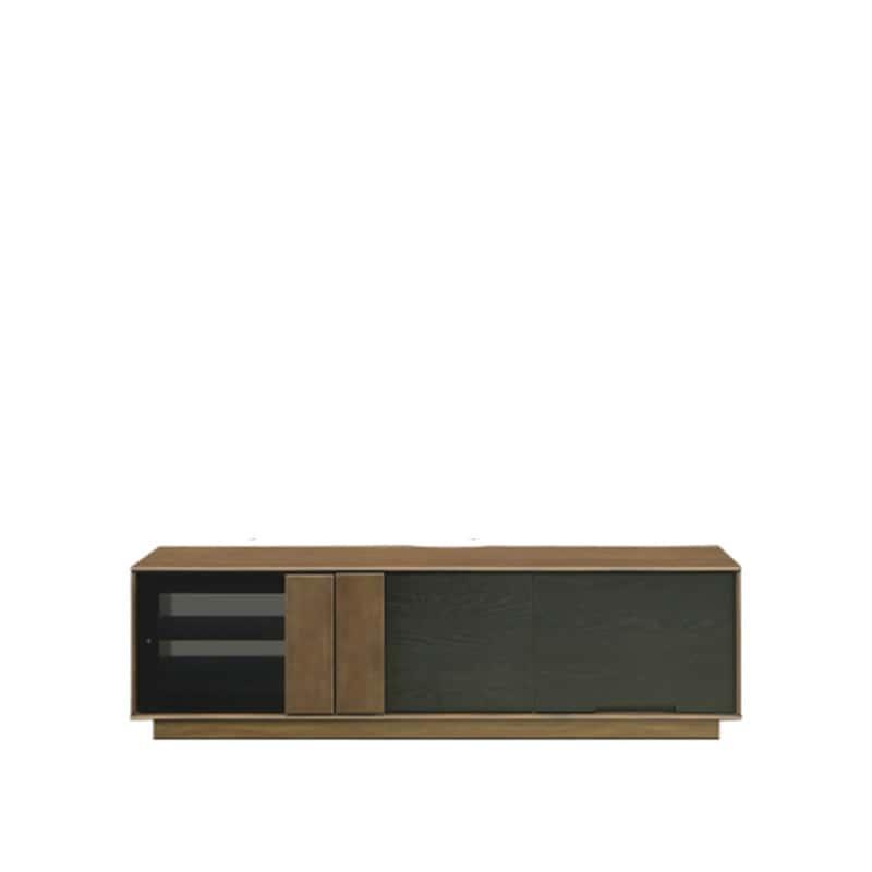 ローボード マーシャル 150TVB MBR:天然杢を使用したツートンデザインのローボードです。