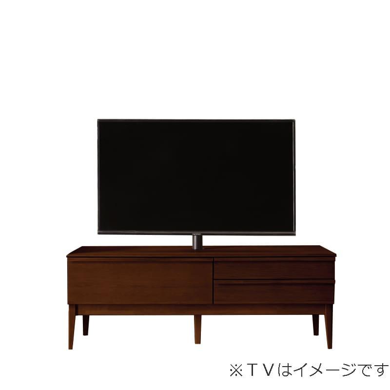 ローボード PALO(パロ) 150TVB/木脚/壁掛け回転ポール付き MBR:壁掛け回転ポール自体が回転する為、簡単にテレビの角度を変えることができます。