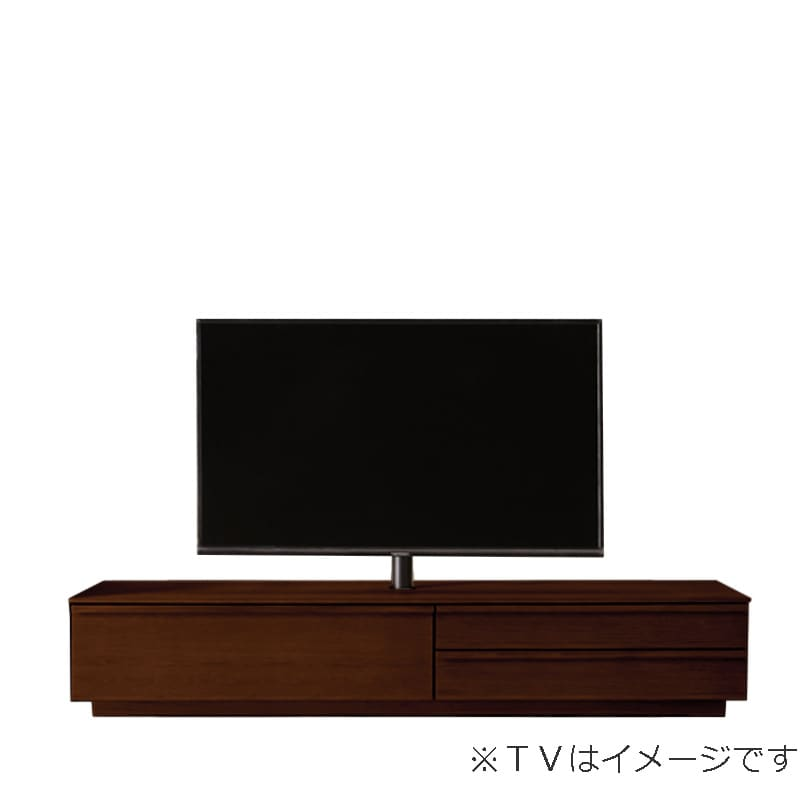 ローボード PALO(パロ) 180TVB/台輪/壁掛け回転ポール付き MBR:壁掛け回転ポール自体が回転する為、簡単にテレビの角度を変えることができます。