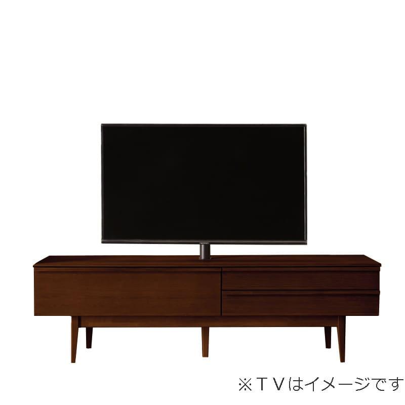 ローボード PALO(パロ) 180TVB/木脚/壁掛け回転ポール付き MBR:壁掛け回転ポール自体が回転する為、簡単にテレビの角度を変えることができます。