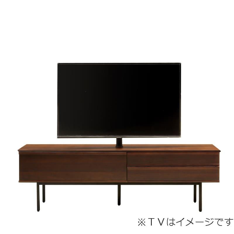 ローボード PALO(パロ) 180TVB/アイアン脚/壁掛け回転ポール付き MBR:壁掛け回転ポール自体が回転する為、簡単にテレビの角度を変えることができます。
