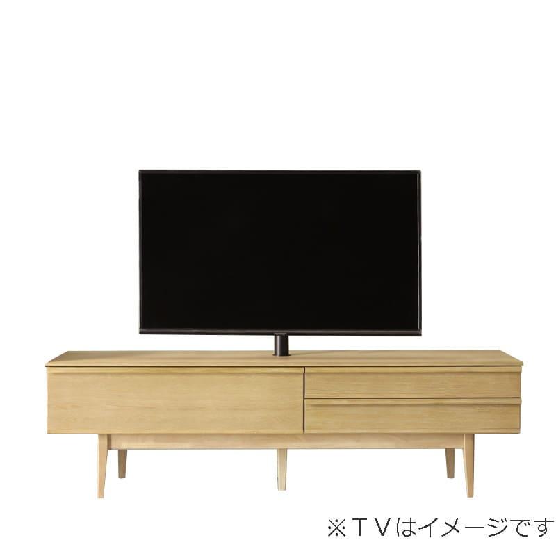 ローボード PALO(パロ) 180TVB/木脚/壁掛け回転ポール付き LBR:壁掛け回転ポール自体が回転する為、簡単にテレビの角度を変えることができます。