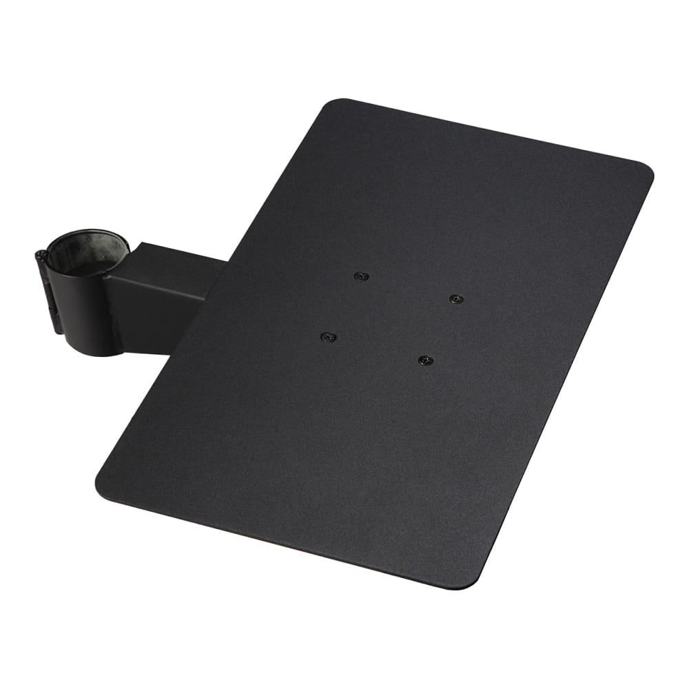 anataIRO専用棚板 レギュラー/ハイタイプ用 レコーダー棚板 M05000217 ブラック:anataIRO専用棚板