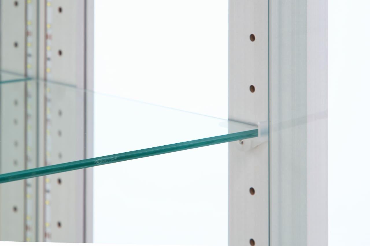 【ネット限定】ガラス棚板 リーフ 60用追加ガラス棚板:ガラス棚板 リーフ 60用追加ガラス棚板