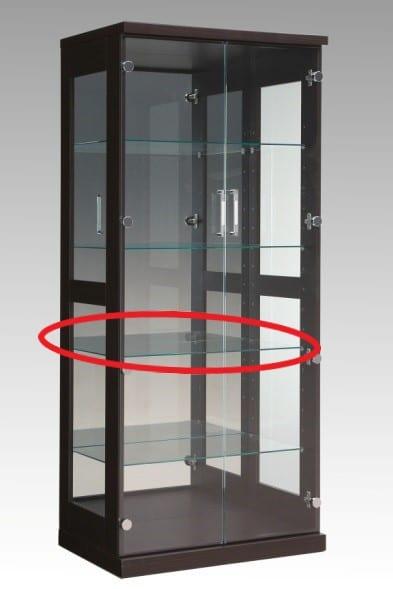 【ネット限定】ガラス棚板 スタバ 70用追加ガラス棚板