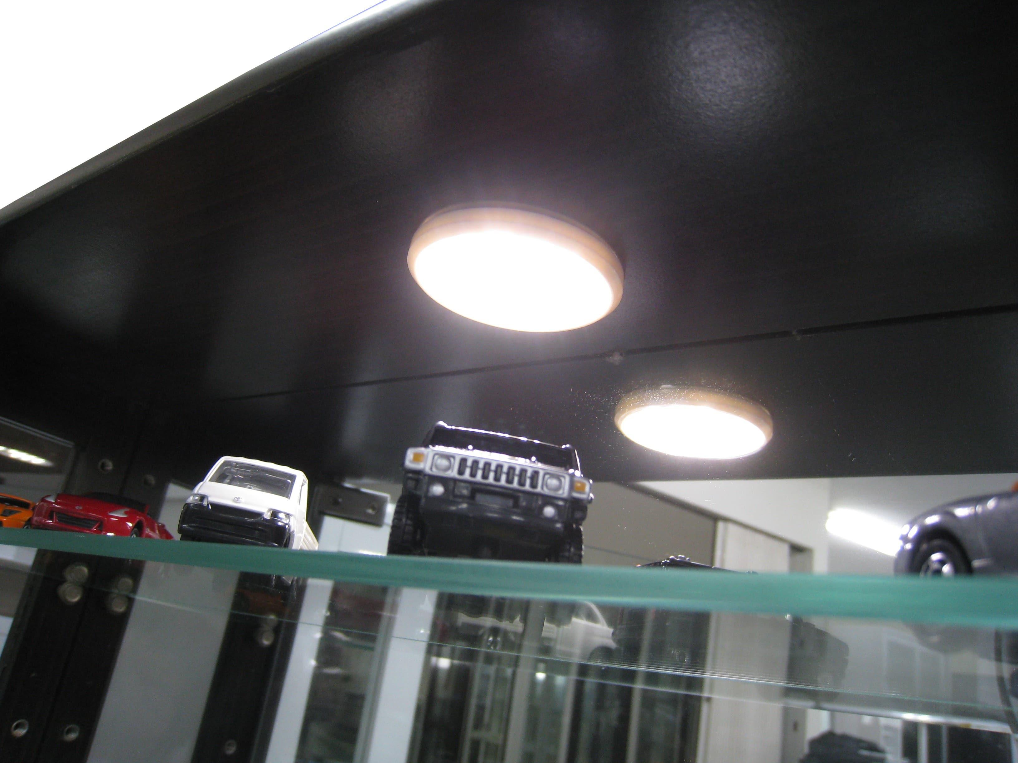 【ネット限定】LEDライト シェイプ 丸型LEDライト:コレクションボード