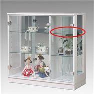 ガラス棚板 キュート 90用追加ガラス棚