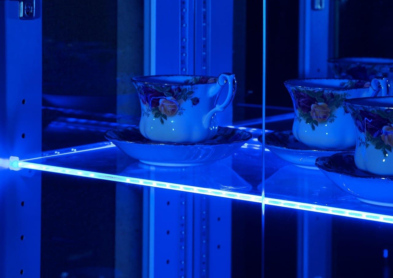LEDライト リキッド ブルー横型LEDライト(L):LEDライト リキッド ブルー横型LEDライト(L)
