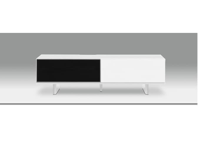 テレビ台 ローボードUVI ウヴィ 140TVB WH:低価格UV塗装ローボードです