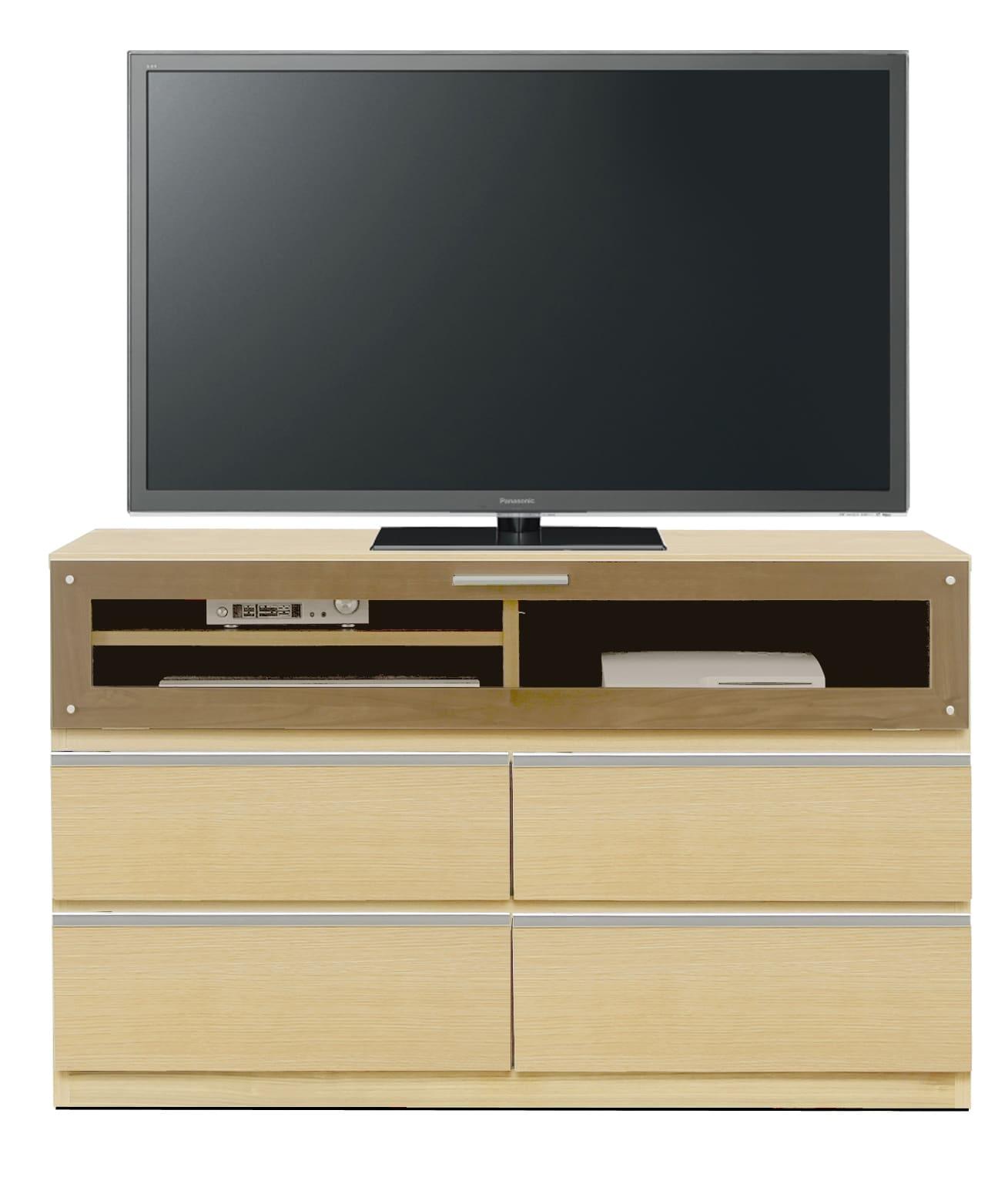 【ネット限定】LDボード リル120AV(NA):少し背の高いTVボード
