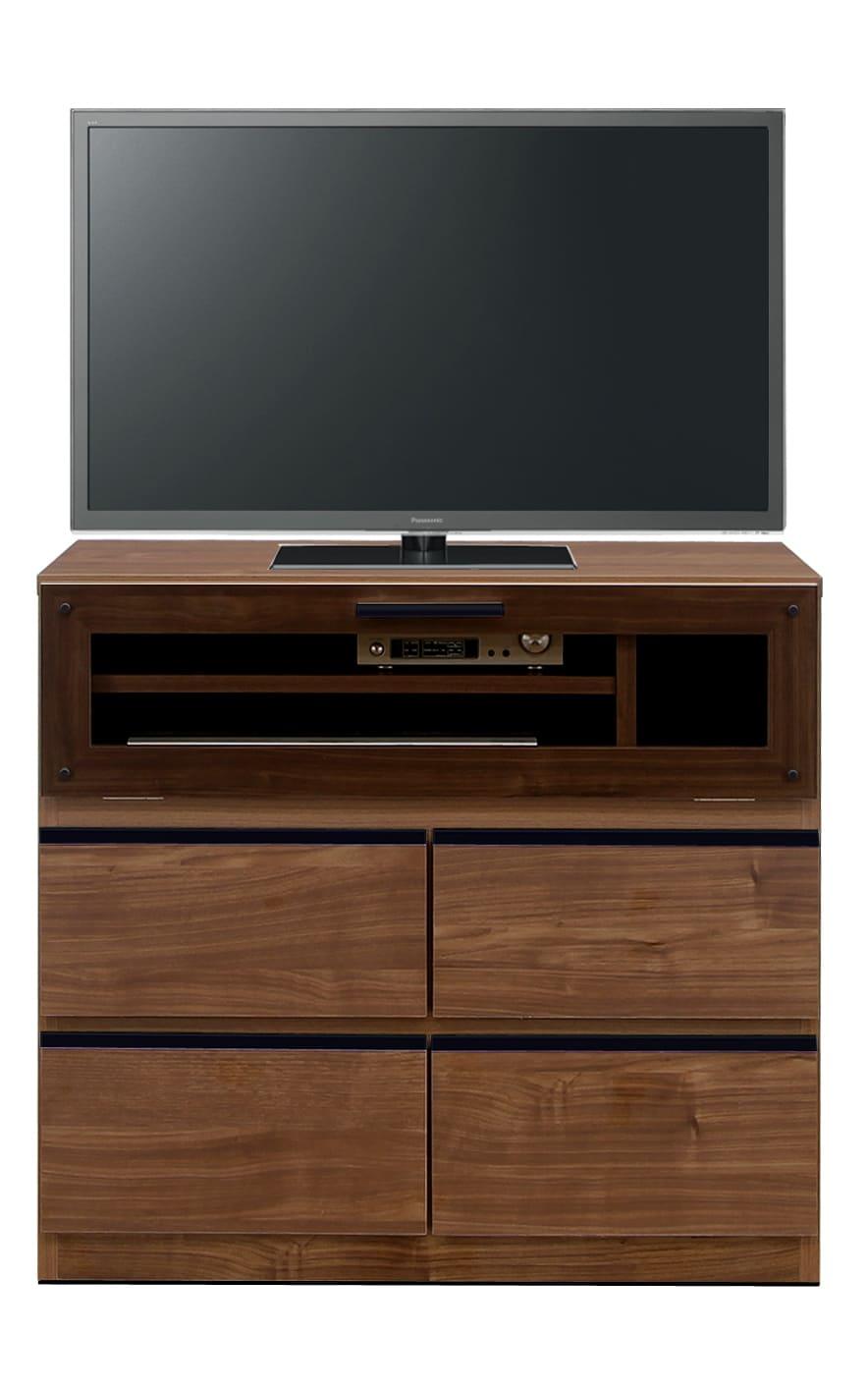 【ネット限定】LDボード リル80AV(BR):少し背の高いTVボード