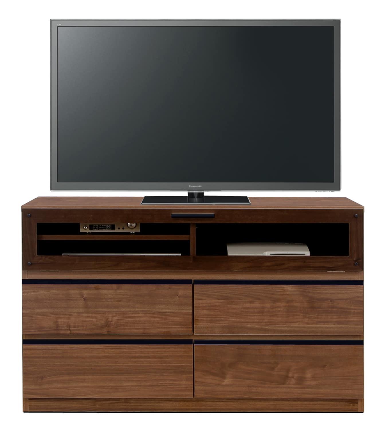 【ネット限定】LDボード リル120AV(BR):少し背の高いTVボード