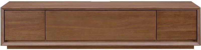 【ネット限定】テレビ台 ローボードクラフト180 MBR:ウォールナット天然目の高級感のあるリビングボード