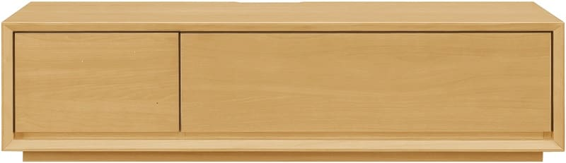 【ネット限定】テレビ台 ローボードクラフト150 LBR:オーク天然目の高級感のあるリビングボード
